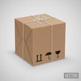 Vetor da caixa de Wraped Foto de Stock Royalty Free