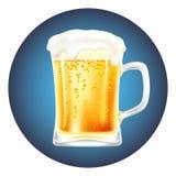 Vetor da caneca de cerveja Imagem de Stock Royalty Free
