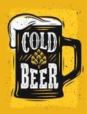 Vetor da caneca de cerveja ilustração royalty free