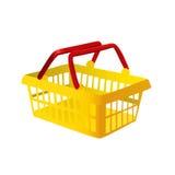 Vetor da cesta de compra Fotografia de Stock Royalty Free