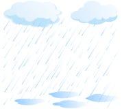 Vetor da chuva ilustração royalty free