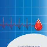 Vetor da doação de sangue. Fotos de Stock Royalty Free