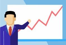 Vetor da estatística Imagens de Stock Royalty Free