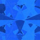 Vetor da estrutura da rede de fio do mosaico Fotografia de Stock Royalty Free