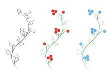 Vetor da flor Fotos de Stock