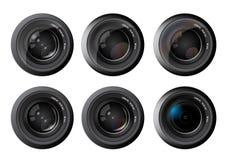 Vetor da lente da foto da câmera Imagem de Stock