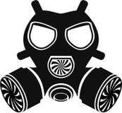 Vetor da máscara de gás Foto de Stock Royalty Free