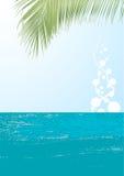 Vetor da paisagem do oceano Imagem de Stock Royalty Free