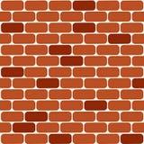Vetor da parede de tijolo Fundo horizontal da parede de tijolo ilustração do vetor