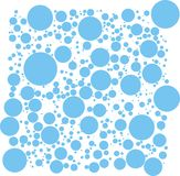 Vetor das bolhas ilustração stock