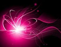 Vetor das luzes de néon Fotografia de Stock Royalty Free