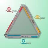Vetor de aço da máquina do sumário do triângulo da tecnologia Ilustração Stock