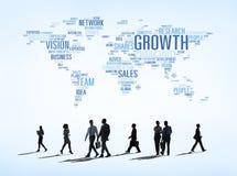 Vetor de conceitos todo do negócio em todo o mundo Fotos de Stock