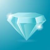 Vetor de Diamond Luxury Glow Object Accessories Ilustração Stock