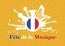 Vetor de Festa de la Musique ilustração royalty free