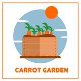Vetor de jardinagem Art Logo Template da ilustração e ilustração Fotos de Stock Royalty Free