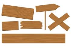 Vetor de madeira do fundo Imagem de Stock