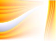 Vetor de ondas alaranjado abstrato Illustratration Backg Fotografia de Stock Royalty Free