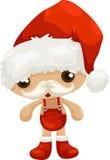 Vetor de Papai Noel Foto de Stock Royalty Free
