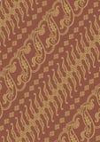 Vetor de Parang do Batik Imagens de Stock