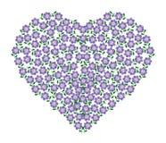 Vetor de Purple Heart Imagem de Stock Royalty Free