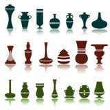 Vetor decorativo dos objetos Imagem de Stock Royalty Free