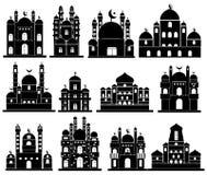 Vetor do ícone da mesquita Foto de Stock Royalty Free