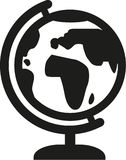 Vetor do ícone do globo ilustração do vetor