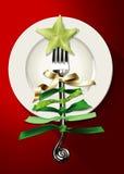 Vetor do alimento do Natal Imagem de Stock