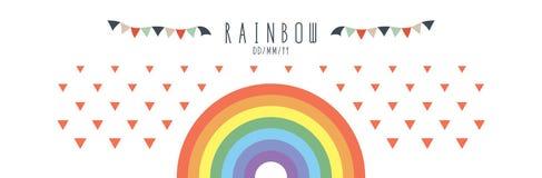 Vetor do arco-íris Fotos de Stock