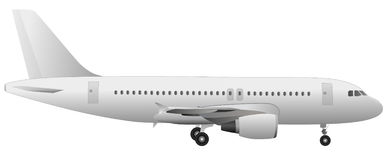 Vetor do avião   Fotografia de Stock Royalty Free