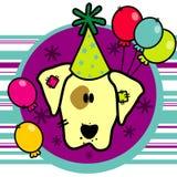 Vetor do cão dos desenhos animados Foto de Stock
