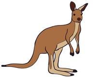Vetor do canguru, Eps, logotipo, ícone, ilustração da silhueta por crafteroks para usos diferentes Visite meu Web site em https:/ ilustração royalty free