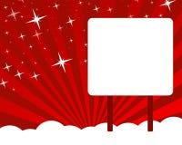 Vetor do cartão de cumprimentos do Natal Fotos de Stock Royalty Free