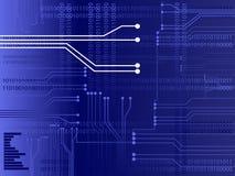 Vetor do circuito Imagens de Stock