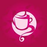 Vetor do copo de café Fotos de Stock