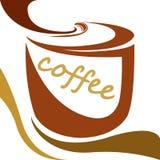 Vetor do copo de café Fotografia de Stock Royalty Free