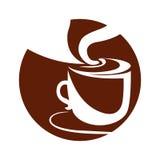 Vetor do copo de café Fotografia de Stock