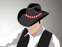 Vetor do cowboy Fotografia de Stock Royalty Free
