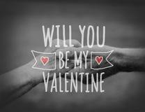 Vetor do dia de Valentim Imagens de Stock