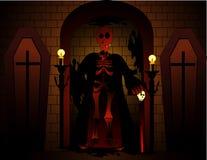 Vetor do diabo de Halloween Imagem de Stock Royalty Free