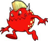 Vetor do diabo do monstro Foto de Stock