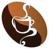 Vetor do feijão de café Imagens de Stock Royalty Free