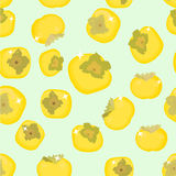 Vetor do fruto do caqui Imagem de Stock Royalty Free
