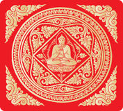 Vetor do fundo da Buda Fotos de Stock