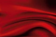 Vetor do fundo de seda vermelho abstrato Foto de Stock Royalty Free