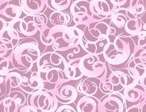 Vetor do fundo de Swirly Imagens de Stock
