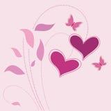 Vetor do fundo do amor ilustração royalty free