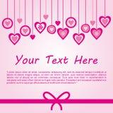 Vetor do fundo do amor Imagens de Stock Royalty Free