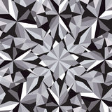Vetor do fundo do sumário da reflexão do diamante ilustração stock